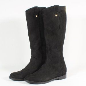Kenneth Cole Reaction Knee Tall Black Suede Boots